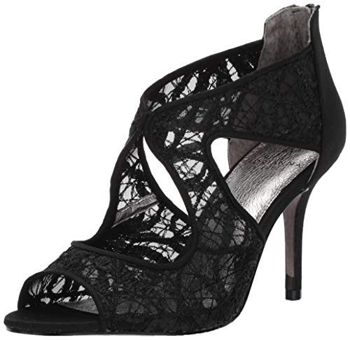 Adrianna Papell Women's Arissa Pump, Black Chagall lace, 7.5 M US