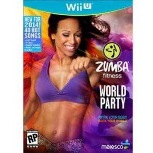 Majesco O1806 Zumba Fitness World Party Game - Wii U (Certified Refurbished) (Zumba World Party)