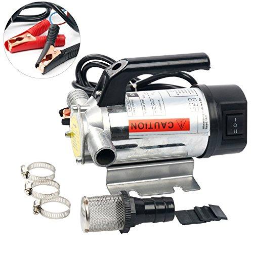 Amarine-made UPDATE 12 Volt Fuel Oil& Water Transfer Pump Diesel Kerosene Biodiesel 12V DC 10.5 gpm Pumps -