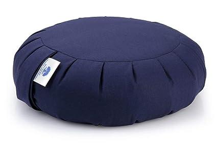 Blue Banyan Zafu Cojín de meditación (Trigo Sarraceno)