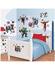 Walltastic 43138 Kit de décoration Avengers Rassemblement, Vinyle, Multicolore, 37,5 x 8 x 18 cm