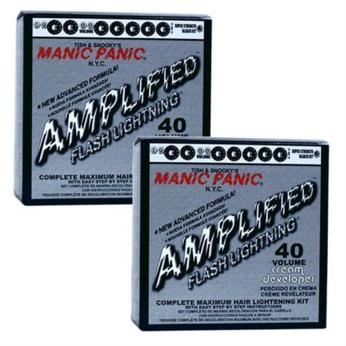 manic-panic-2-pack-flash-lightning-hair-bleach-kit-40-volume-by-manic-panic