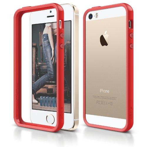 iPhone SE case, elago [Bumper][Red] - [Edge Protection][Minimalistic][Durable Hardshell] - for iPhone SE/5/5S