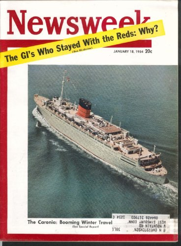 newsweek-caronia-nixon-eisenhower-taft-hartley-nehru-korea-thimayya-1-18-1954