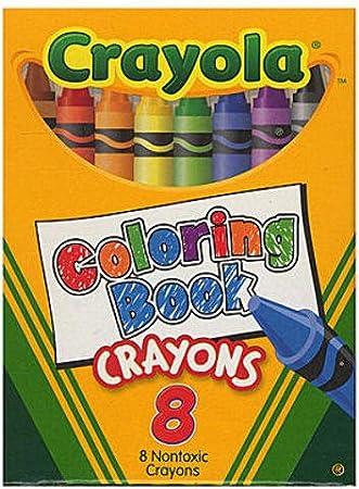 Amazon.com: Crayola Coloring Book Crayons 1 pcs sku# 1873456MA