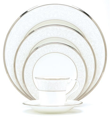Noritake Silver Palace 5-Piece Place Setting, Service for 1