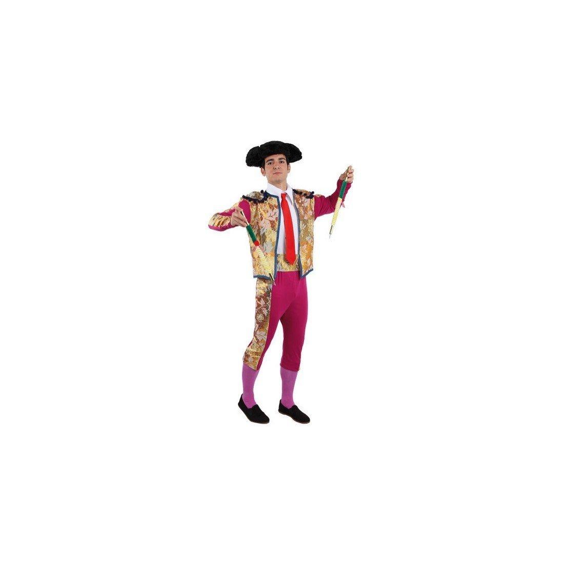 Disfraces FCR - Disfraz de torero de luces: Amazon.es: Ropa ...