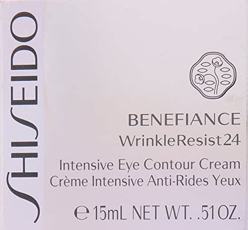 Shiseido Benefiance Wrinkle Resist24 Intensive Eye Contour Cream for Unisex, 0.51 Ounce