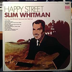Slim Whitman Slim Whitman Happy Street Vinyl Record