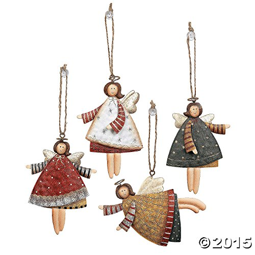 Dancing Angels Christmas Tree Ornaments
