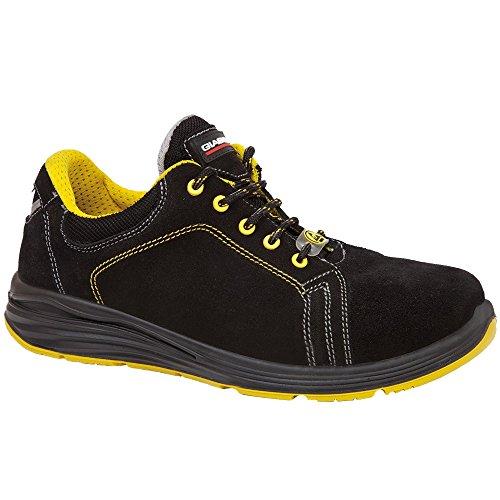 Giasco Up025h39 Bélier Chaussures De Sécurité Low S3 Noir / Jaune, Multicolore, Up025h40