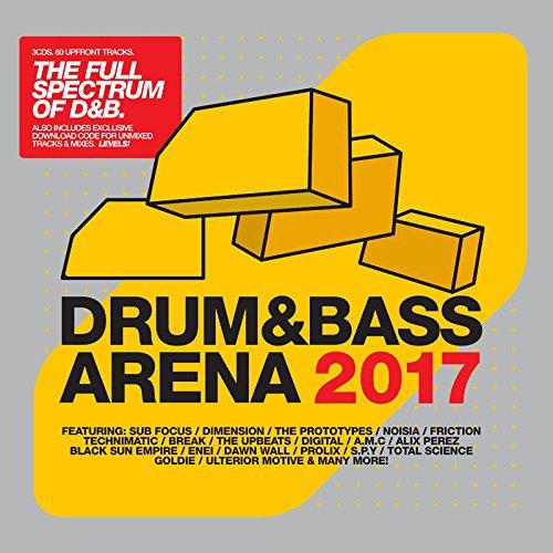 Drum&Bassarena 2017 / Various [No USA] (United Kingdom - Import, 3PC)