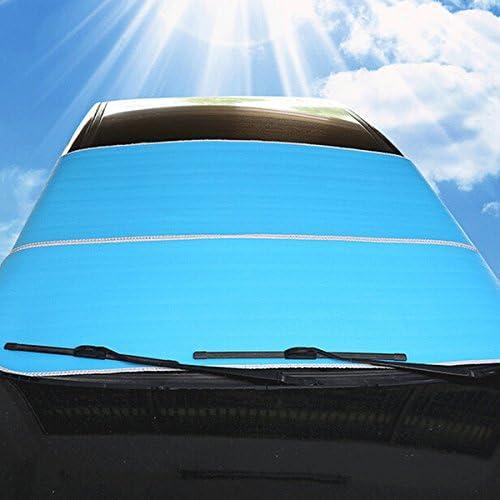 Bleu winomo voiture pare-brise pare-soleil vitre avant soleil ombre protection Vent Protection
