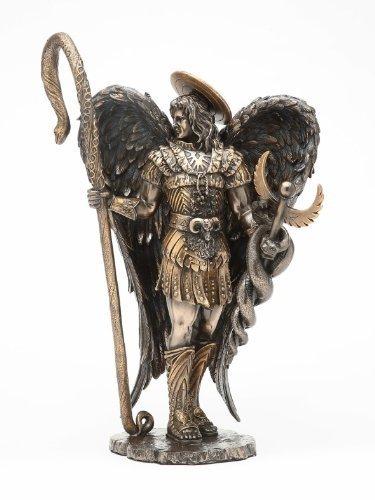 Amazon Saint Raphael The Healer Statue Archangel Home Kitchen