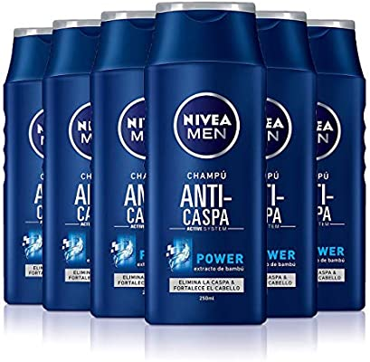 NIVEA MEN Anti-caspa Power Champú anticaspa para cabello normal ...