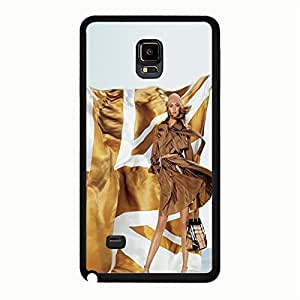 Well-Design Burberry Logo Snap On Samsung Galaxy Note 4 Burberry Pattern Phone Case