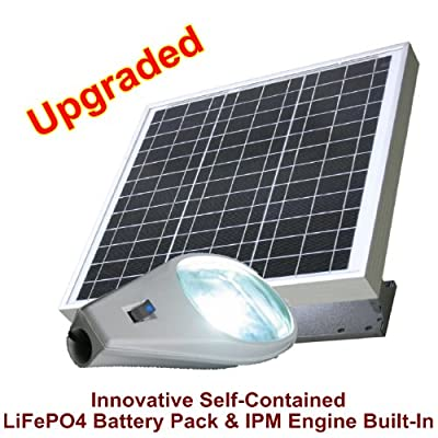 Solar Powered (Cobra Type) Ultra Power 10W LED Energy Efficient Street, Building, Parking Lot lights (The Mounting Bracket Included, Smart Illuminating Technology by eLEDing USA)