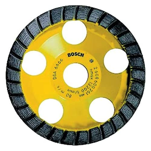 Image of Bosch DC530 5-Inch Diamond Cup Grinding Wheel for Construction Materials Home Improvements