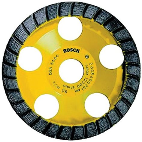 Bosch DC530 5-Inch Diamond Cup Grinding Wheel for Construction - Grinding Bosch Wheel