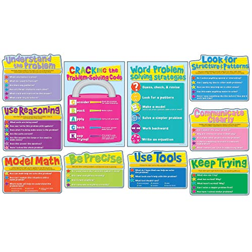 Common Core Math Strategies Bulletin Board Set ()