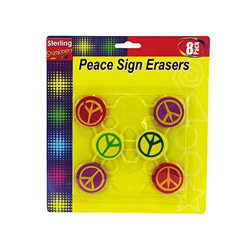 Kole Imports Peace Sign Erasers ()