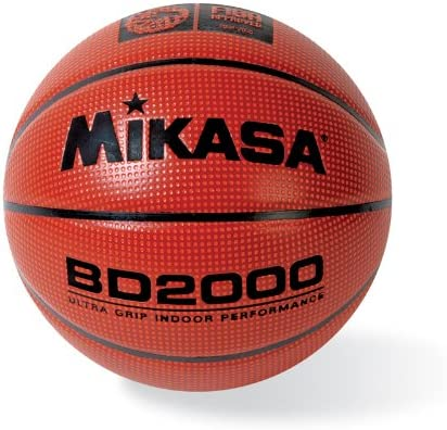 Mikasa FIBA Approved Ultra Grip Dimpled Indoor Basketball Official ...
