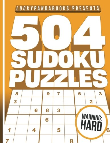 - 504 SUDOKU Puzzles Hard: Hard Sudoku Puzzle Book including Instructions and answer keys