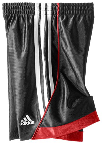 Adidas Little Boys' Speed Short, Black/Red, 4 by adidas (Image #2)