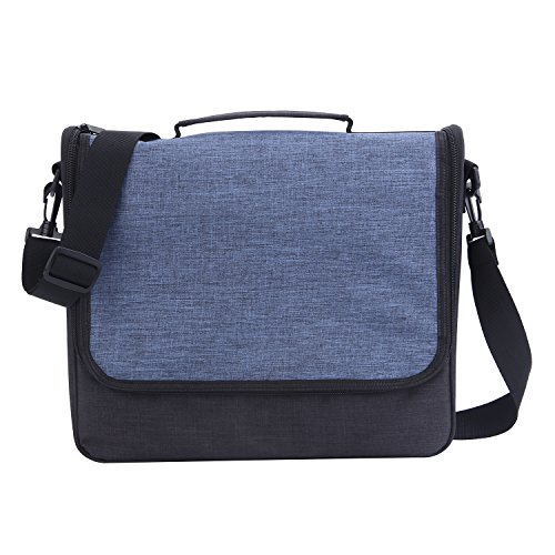Travel Bag for Switch,Fyoung Messenger Bag for Switch With Multiple Pockets & Customizable Interior Compartment