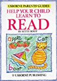 img - for Help Your Child Learn to Read (Usborne Parents' Guides) book / textbook / text book