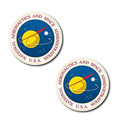 """#10987 NASA Sticker 2X Decal for Car, Motorcycles, Windows, Laptops, Walls and More (3"""" - 6"""")"""
