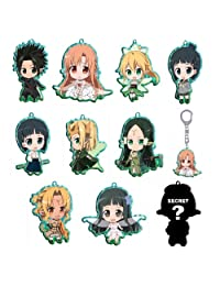 Sword Art Online Fairy Dance Metal Trading Metal Keychain (1 Random Blind Box)