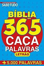 Almanaque Pssatempo Sabe-tudo - Bíblia em 365 Caça-palavras