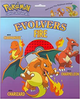 Evolvers Fire: Charmander, Charmeleon, Charizard