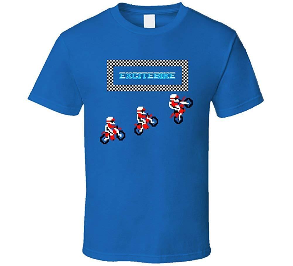 Excitebike Classic Nes Video Game T Shirt