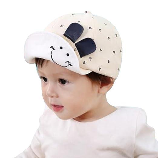 Amazon.com  ATOFUL Unisex Baby Summer Hats for Infant   Toddler Boys ... 17fa51657fd