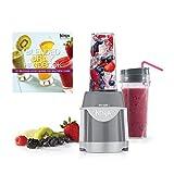 Ninja Professional 600 Watt Single Serve Pulse Blender + Drink Recipe Handbook
