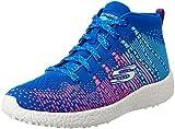 Skechers Kids Girls' Burst-Sweet Symphony Sneaker, Blue/Hot Pink, 10.5 M US Little Kid