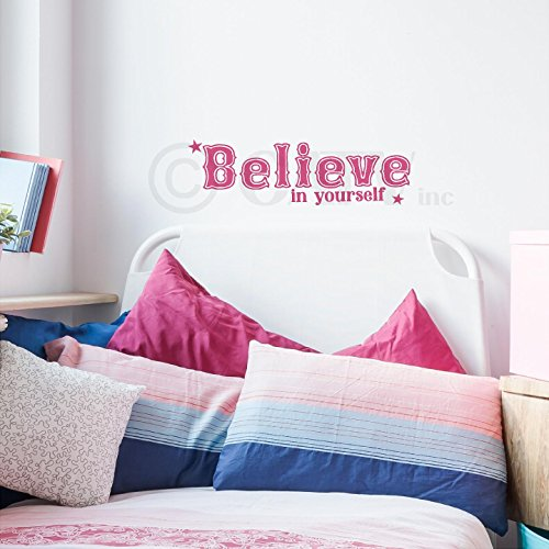 Believe Yourself Vinyl Lettering Wall product image