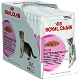 24 x 85g (2 x 12) Pouch Royal Canin Wet Kitten Instinctive with Gravy Supplied by Maltby's UK