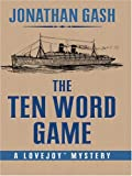 The Ten Word Game, Jonathan Gash, 0786266791
