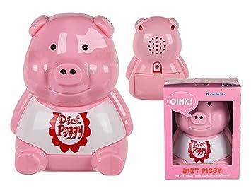 Diet Piggy Dieting Slimnming Aid Fridge Warning Alarm with Light Sensor & Sound