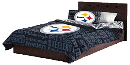 Image Unavailable. Image not available for. Color  Pittsburgh Steelers Queen  Comforter   Sheets (5 Piece ... c4060efa4