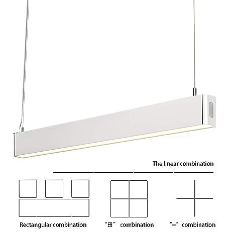 KLARS Lámpara colgante 36W LED Moderna Lámpara de Techo Blanco frío 5000K Lámparas de araña cocina mesa de comedor Iluminación colgante de la sala de ...