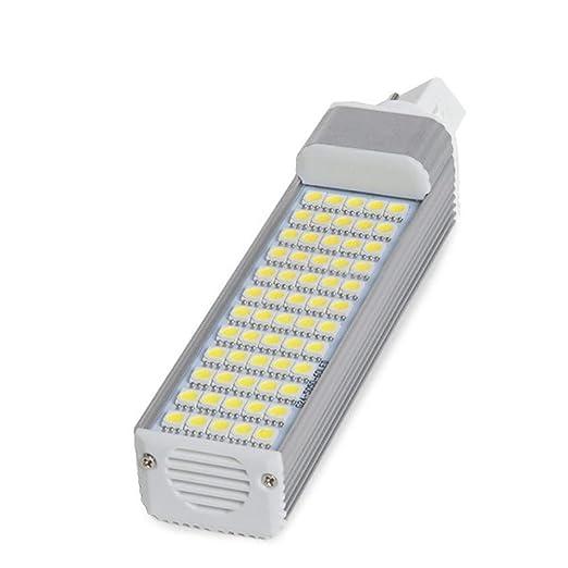 Greenice | Bombilla de LEDs G24 4 Pins de 60 X SMD5050 12W 1000Lm 30.000H