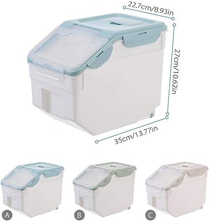 K/üche Getreide Aufbewahrungsbox 20 Kg 30 Kg Aufbewahrung Reisbeh/älter Haushaltsinsekt Und Feuchtigkeitsbest/ändig M/üslibeh/älter Cyg Reisbeh/älter Reisbox