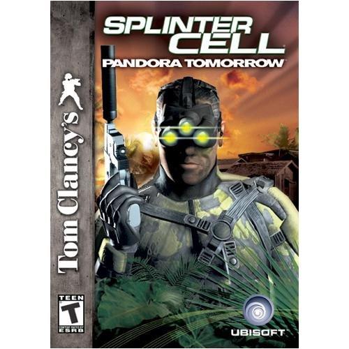 Splinter Cell Pandora Tomorrow Jewel Case product image