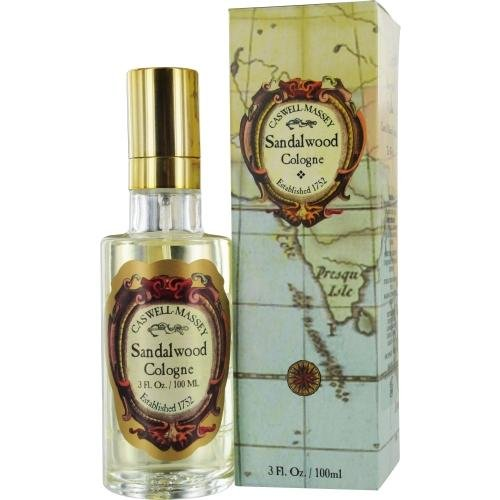 Caswell-Massey Sandalwood Cologne, 3.0 Ounce 008292940226
