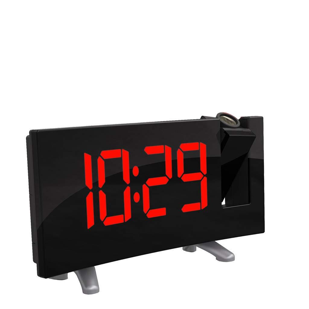 webla proyección altavoz despertador arco LED Proyección ...