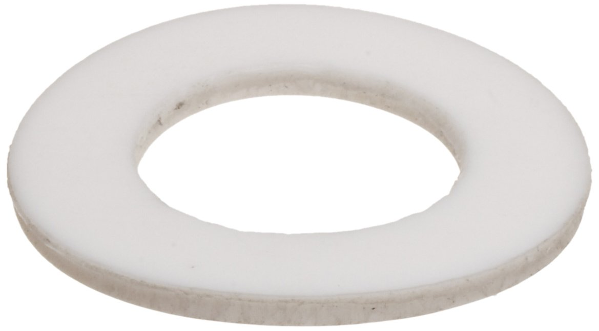 Made in US Polytetrafluoroethylene 0.196 ID Pack of 100 0.196 ID 0.375 OD 0.031 Nominal Thickness Superior Washer T10-375031NM Flat Washer 0.031 Nominal Thickness PTFE 0.375 OD #8 Hole Size